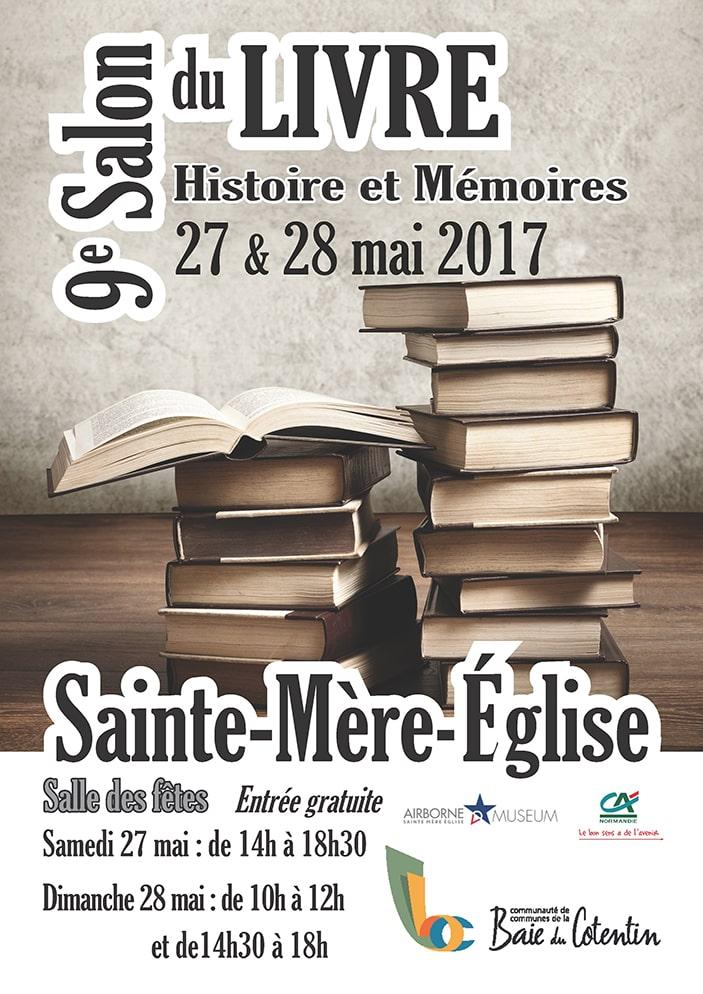 Book fair WWII Sainte Mère Eglise