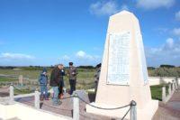 stèle commémorative Jour J Utah Beach