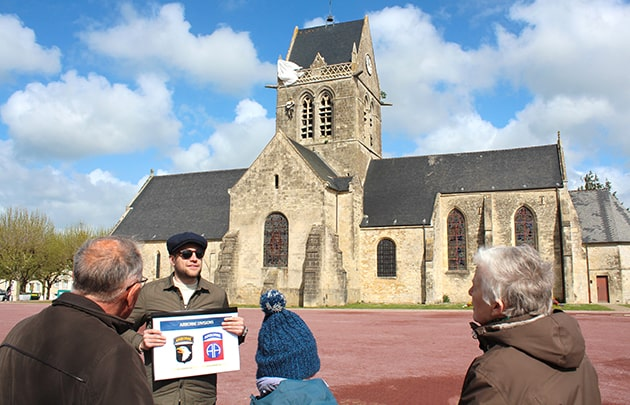 dday guided tour in Sainte Mère Eglise